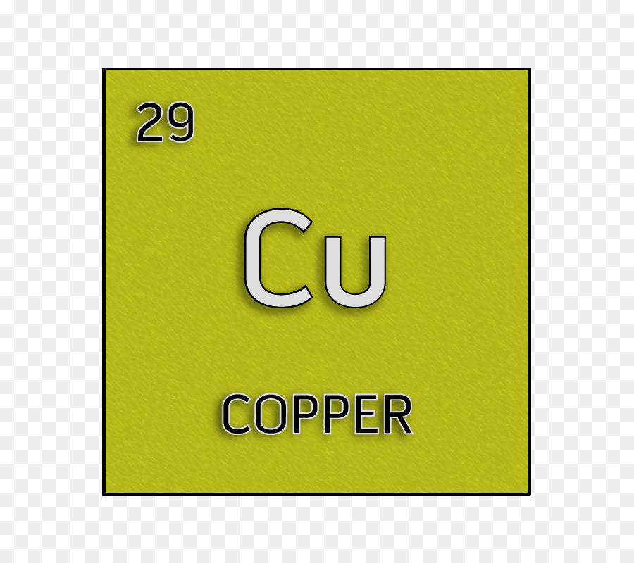 Green Silver Chemical Element Cell Periodic Table Copper Chemical