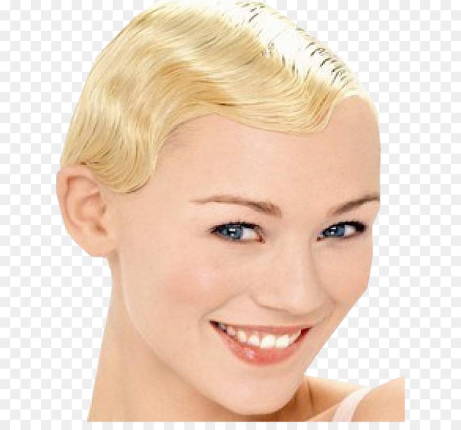 Blonde Haare Färben Pixie Cut Augenbrauen Wimpern Haar Png