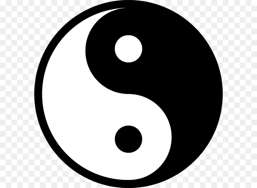 Yin And Yang Symbol The Book Of Balance And Harmony Taoism Symbol