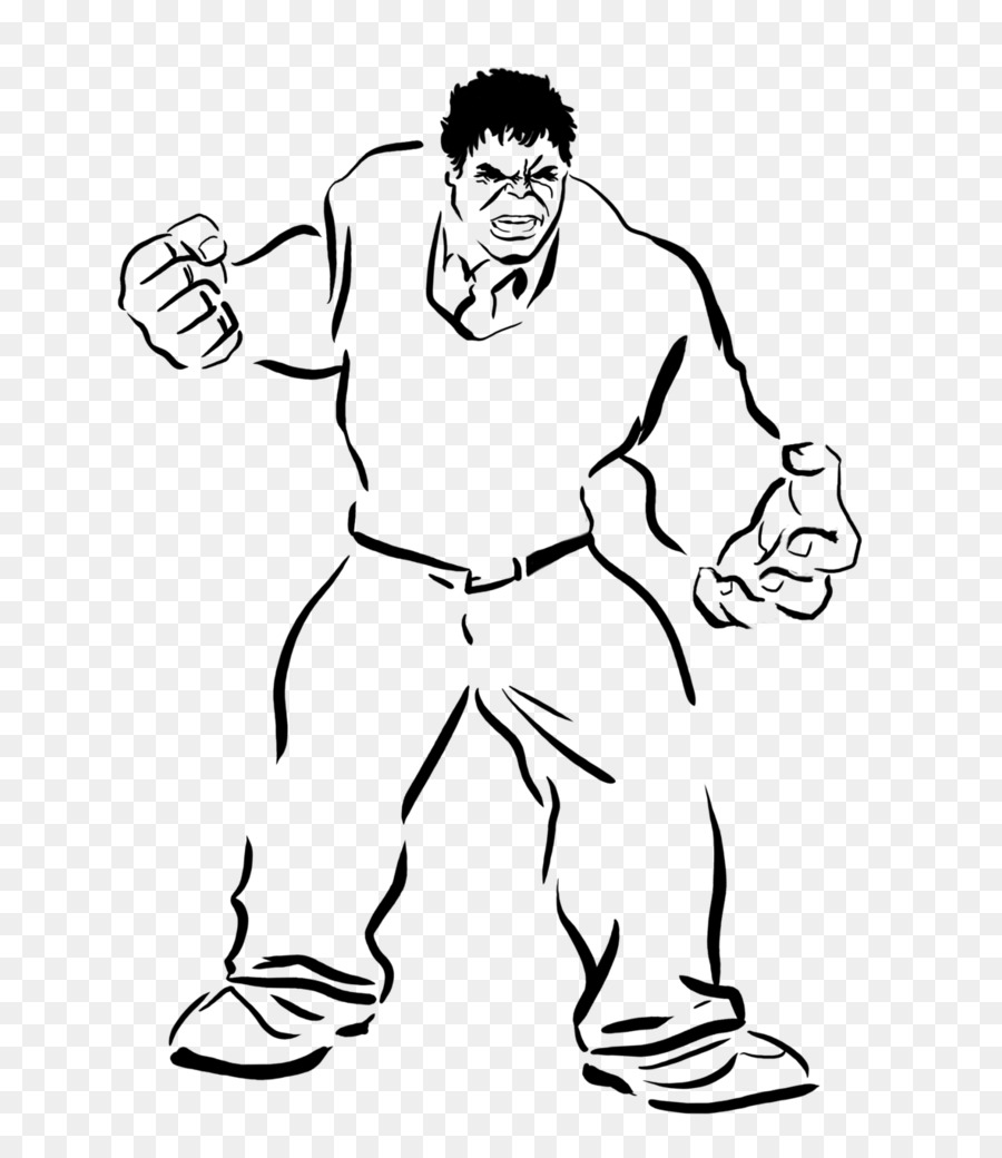 Hulk Thunderbolt Ross Boyama Kitabı Karakter çocuk Siyah Ve Beyaz