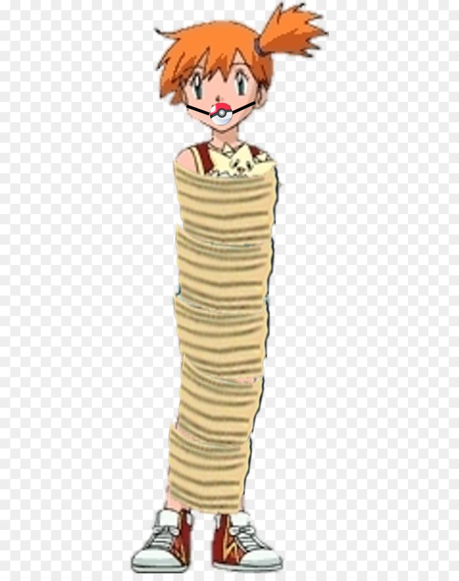 Pokemon Misty Tied Up