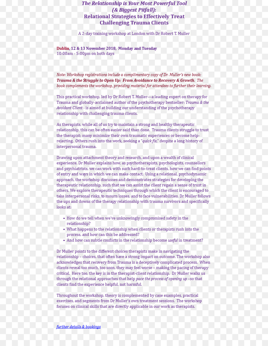 therapistclient relationship essay Client-therapist relationship in gestalt psychotherapy essay sample abstract there are many theories that have been advanced by psychologist as they try to explain the human mind, ways of thinking and the factors that shape personality among other issues.