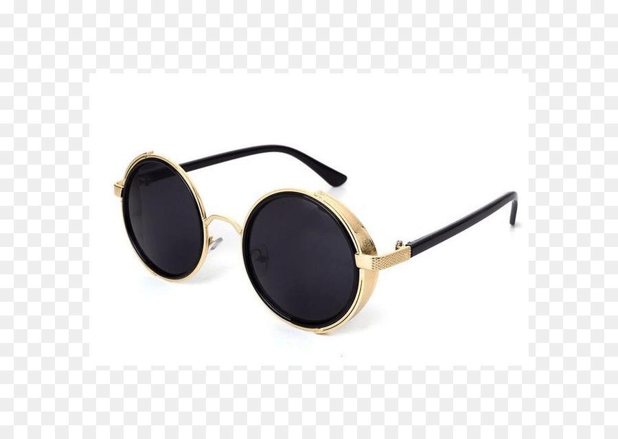 2d60d1e3b16 Sunglasses Retro style Eyewear Goggles - Sunglasses png download - 640 640  - Free Transparent Sunglasses png Download.