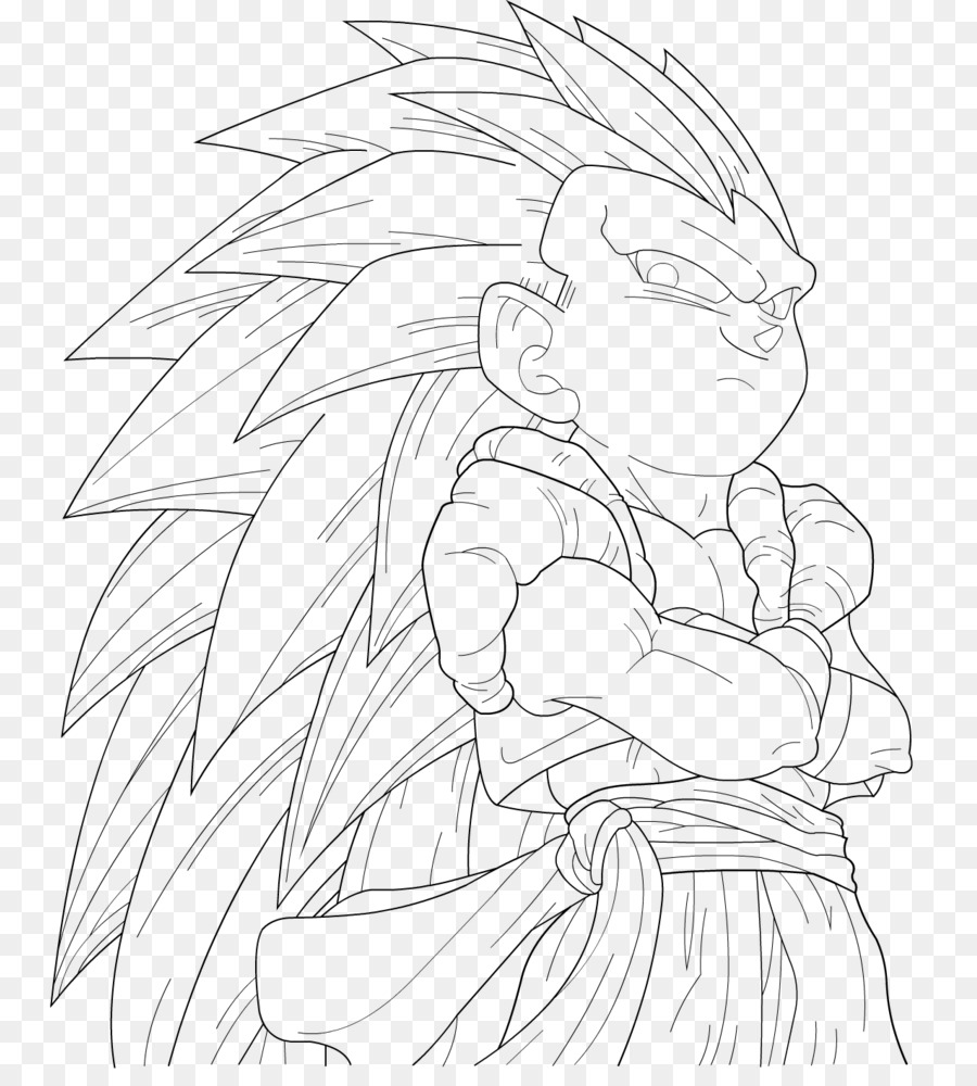 Goku Gohan Trunks Drawing Dragon Ball Goku Png Download 811 986