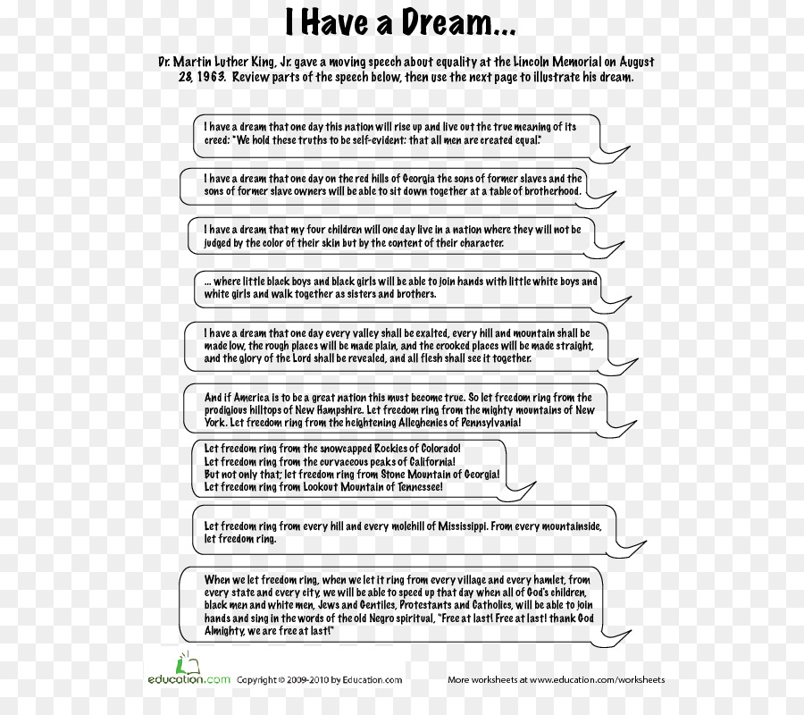 what is the theme of i have a dream speech