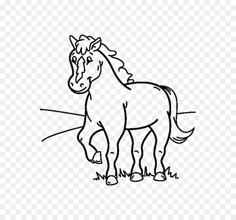 Caballo Pony Calvados libro para Colorear, Dibujo de - caballo png ...
