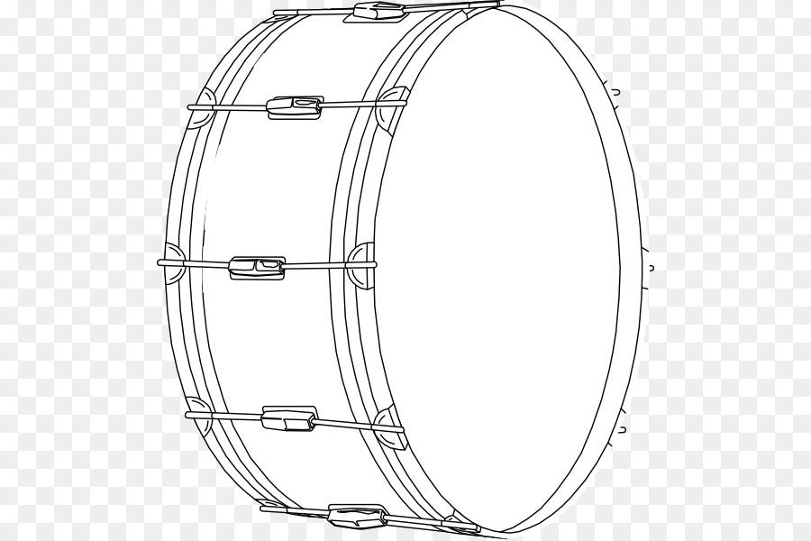 Bajo Tambores Djembe libro para Colorear - tambor png dibujo ...