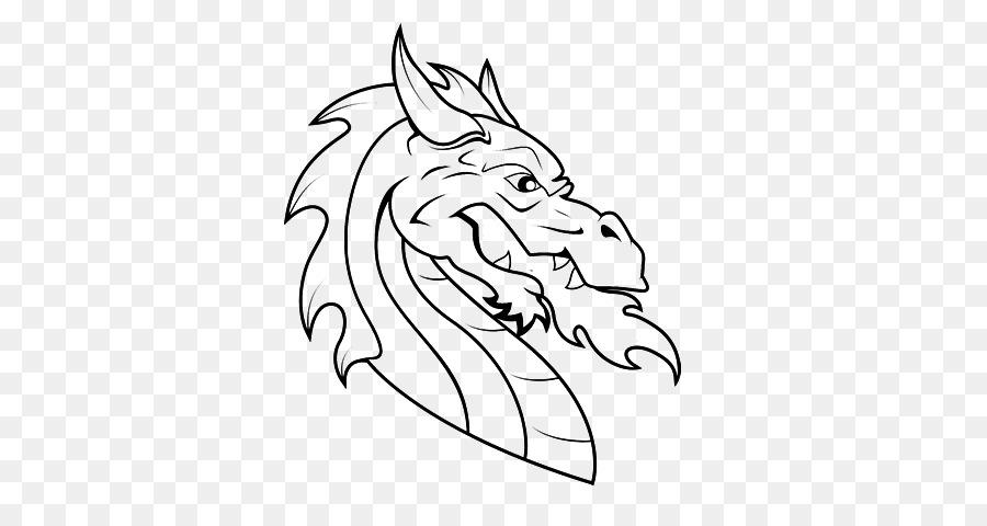 Libro para colorear dragón Chino Año Nuevo Chino del Dragón de la ...