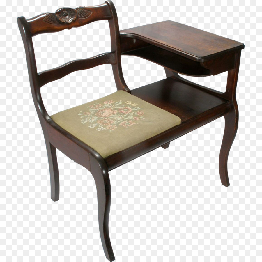 Table Telephone Desk Gossip Bench Antique   Table