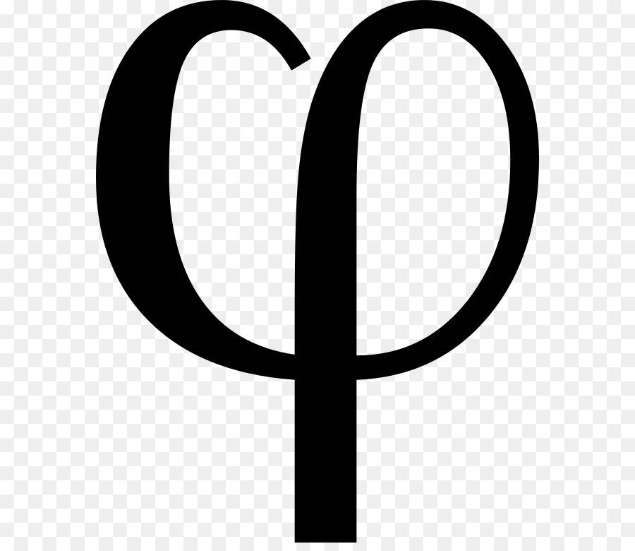 Phi Golden Ratio Symbol Pi Mathematics Symbol Png Download 628