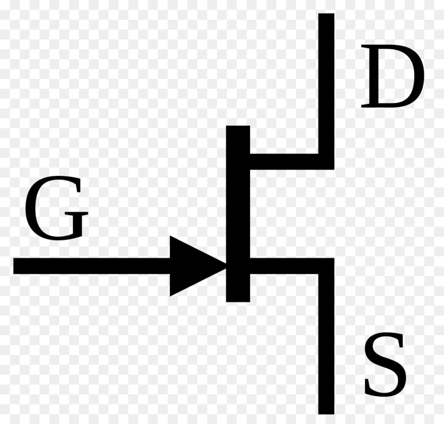 Jfet Electronic Symbol Field Effect Transistor Electronic Circuit