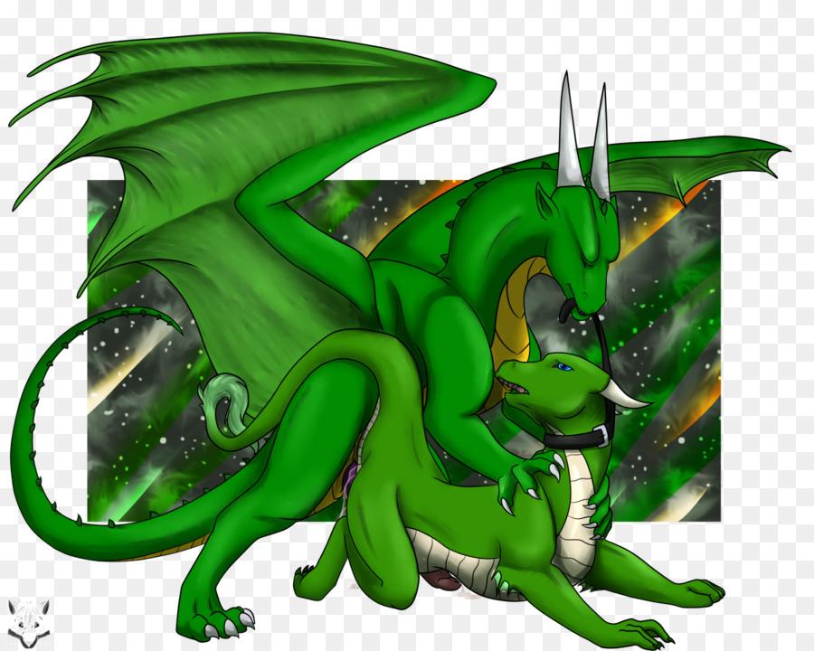 Green Cartoon Organism Dragon Furry Png Download 12801024