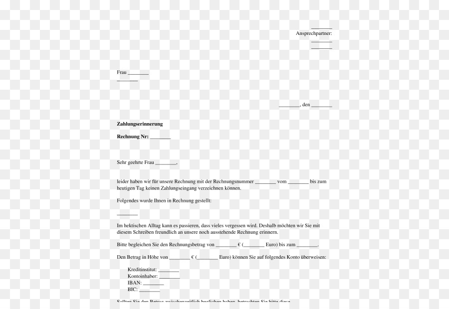 Dunning Notice of default Payment Template Debt Collection Agency ...