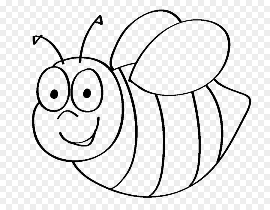 Yaban Arısı Bal Arısı Boyama Kitabı Arı Png Indir 1134864