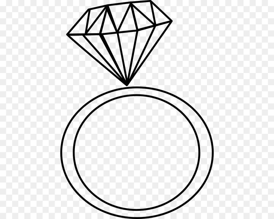 Engagement Ring Wedding Ring Clip Art Caro Png Download 504 720