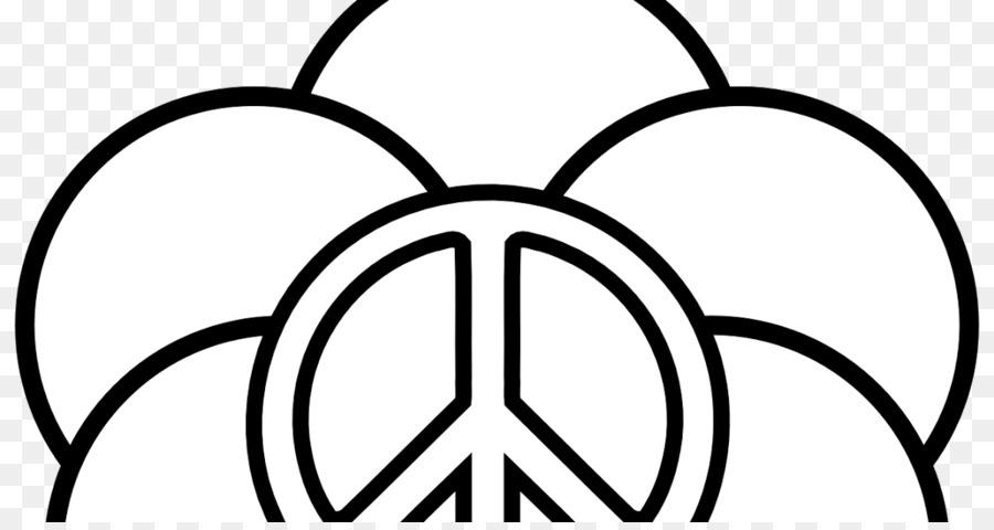 Libro para colorear de la Paz símbolos Signo de Adultos - símbolo ...