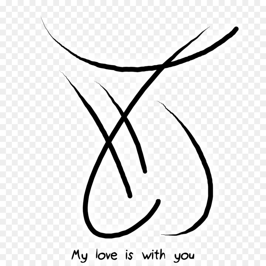 Love Black And White png download - 1280*1280 - Free Transparent