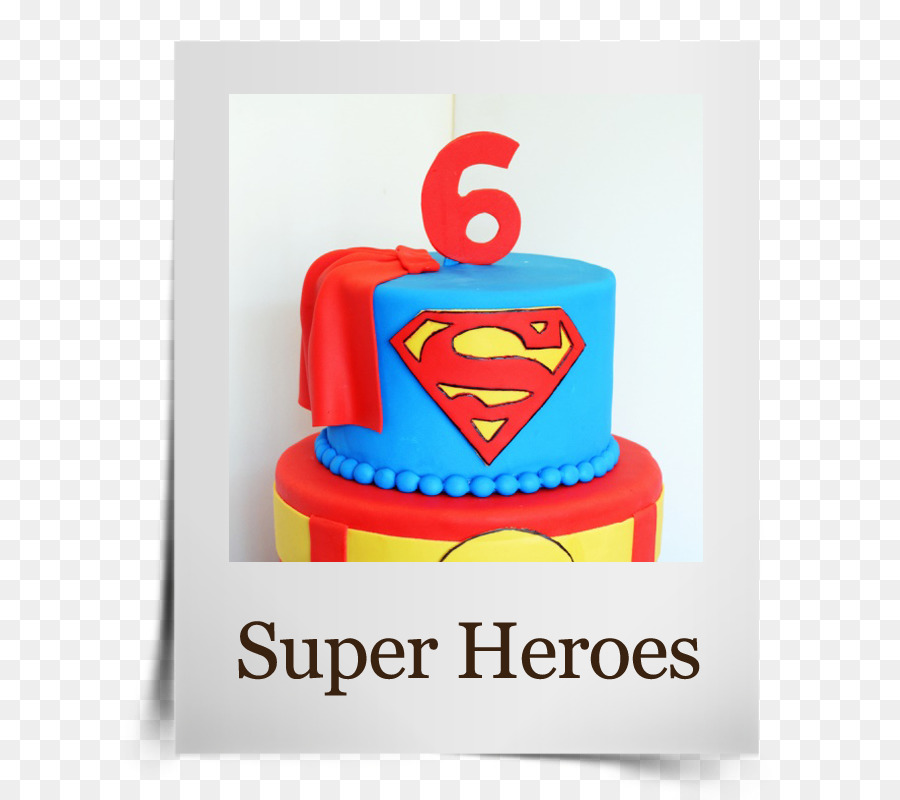 Birthday Cake Superman Party Supergirl