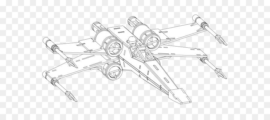 X Wing Starfighter Star Wars X Wing Miniatur Permainan Buku