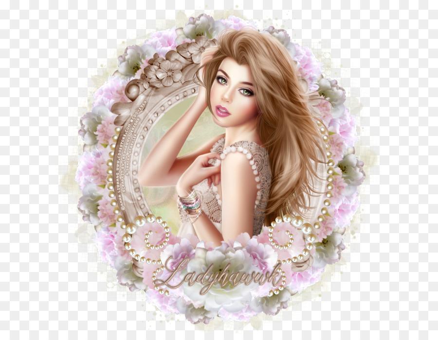 Barbie Braune Haare Pink M Barbie Png Herunterladen 675700