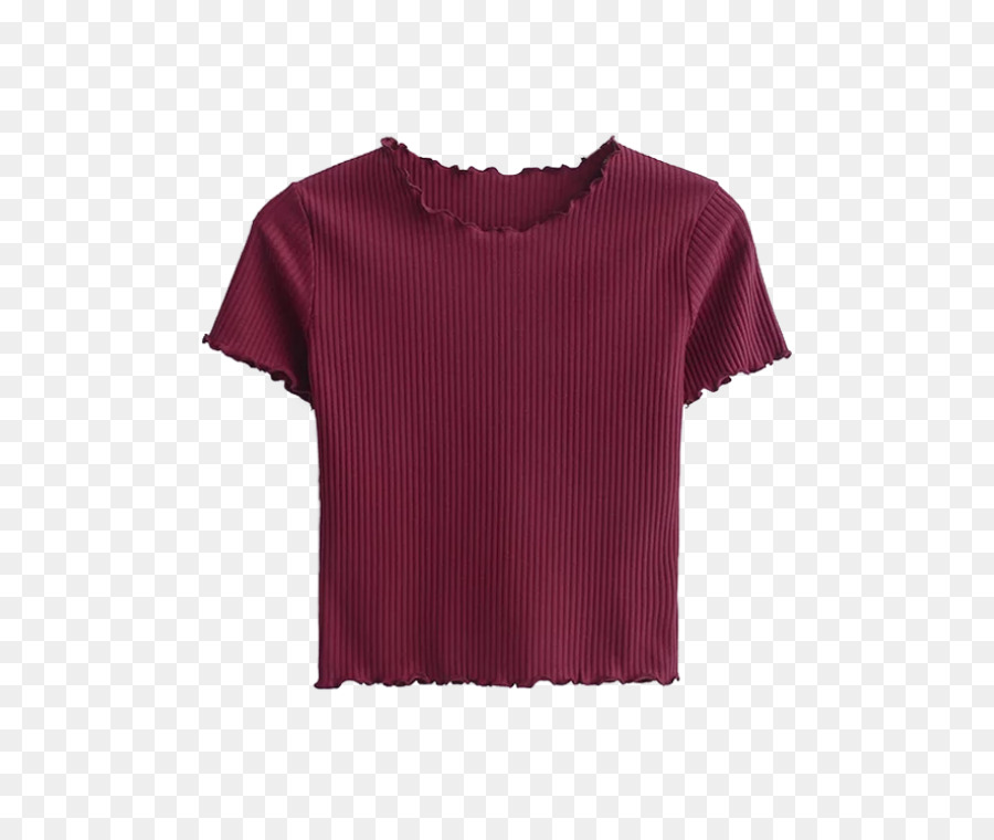 71e5123f42b9f2 Sleeve T-shirt Crop top Red - T-shirt png download - 558 744 - Free  Transparent Sleeve png Download.
