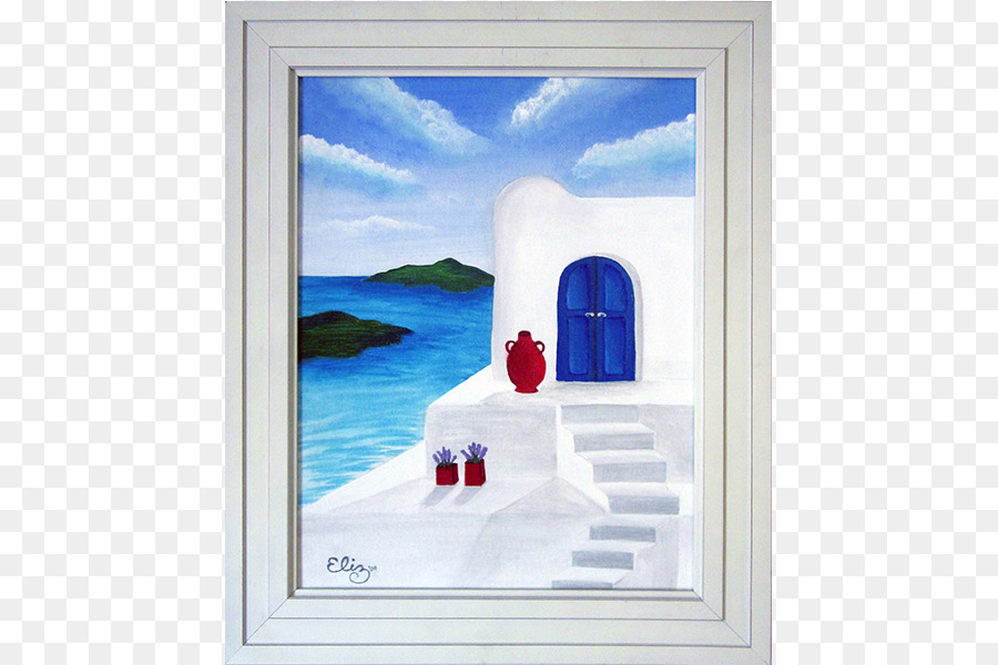 Painting Window Modern art Picture Frames - canvas board png ...