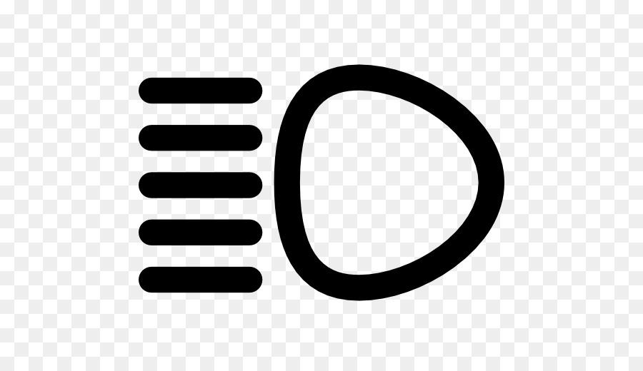 Car Computer Icons Light Symbol Headlamp Light Cars Png Download