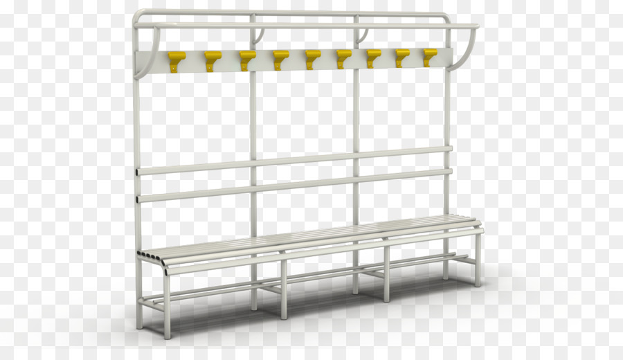 Changing Room Bench Street Furniture Shelving Png