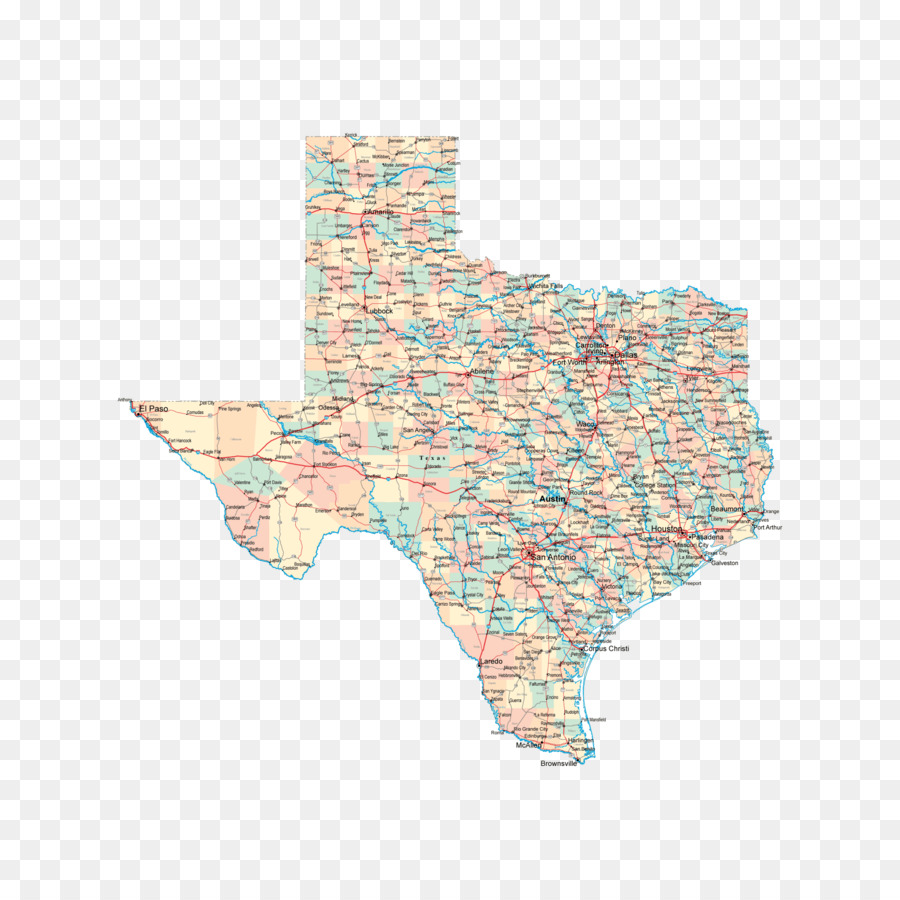 Texas City disaster Road map - map png download - 2000*2000 - Free ...