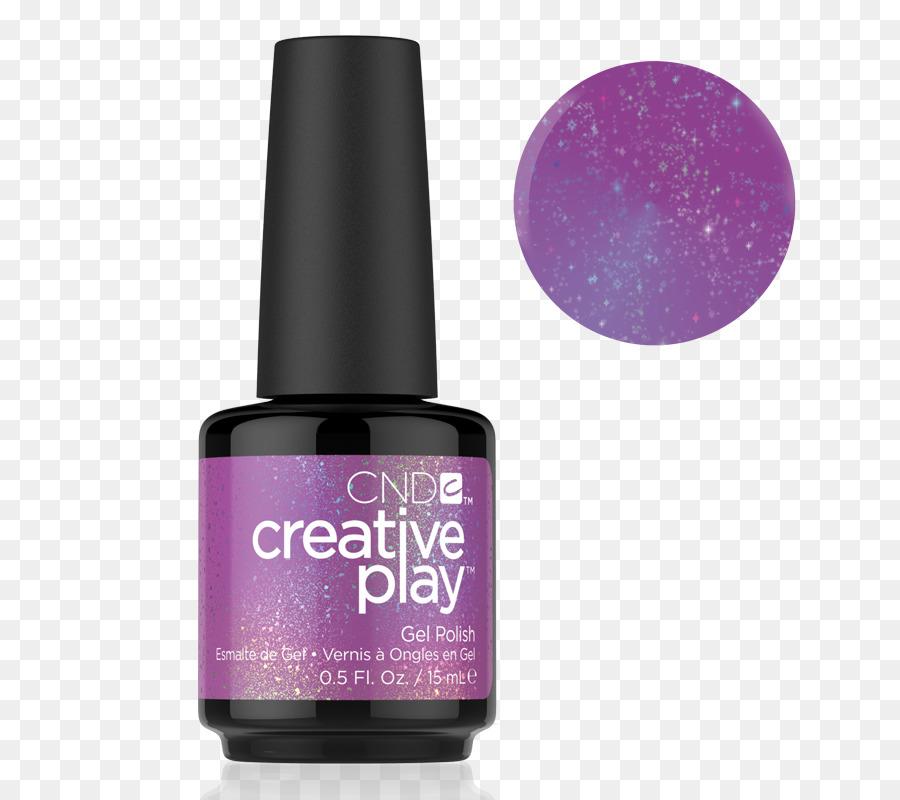 Gel nails Гель-лак Nail art Nail Polish - Purple Glitter nails png ...
