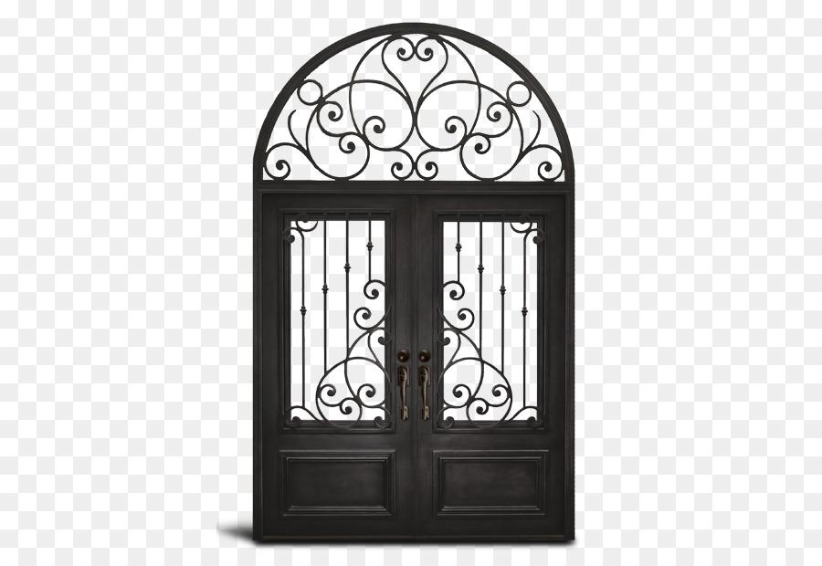 Iron Door Window Metal Arch Palace