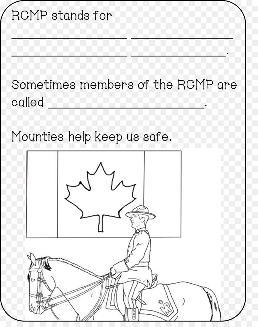 Kanada Bayrağı Boyama Kitabı Kanada Png Indir 11421422