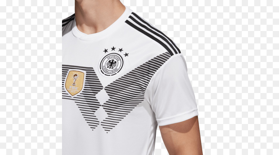 a89b759cf7d 2018 World Cup, Germany National Football Team, Adidas, White, T Shirt PNG