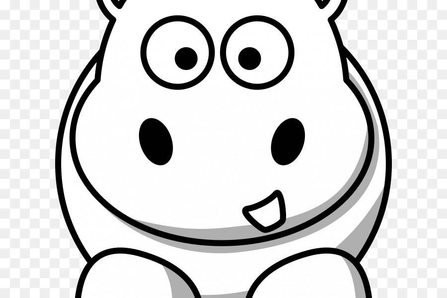 Hipopotam Boyama Kitabı Küçük Resim çizimi Bayrağı Ile Tur Rehberi