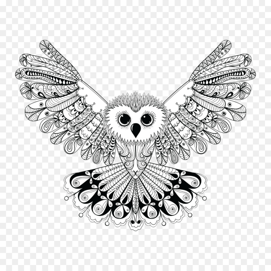 Owls Coloring Books for Adults: For Coloring Markers and Pens ...