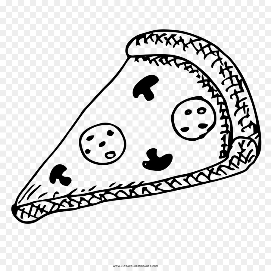 Pizza Mewarnai Gambar Keju Buku Mewarnai Pizza Poster Unduh