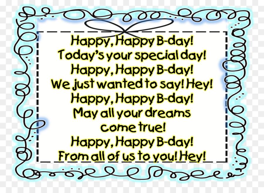 Birthday Wish Happy Text Organism PNG