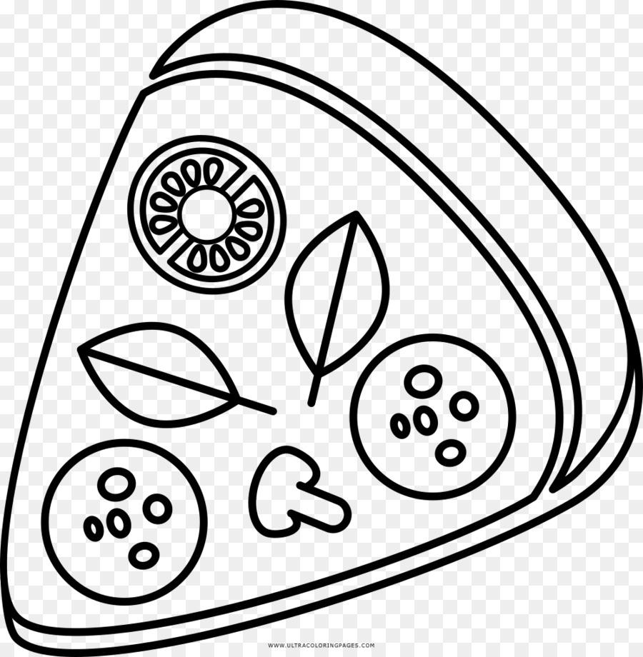 Pizza Masakan Italia Menggambar Buku Mewarnai Pizza Poster