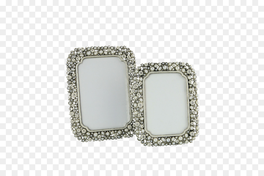 Jewellery Picture Frames Silver Bling-bling - large pearl png ...