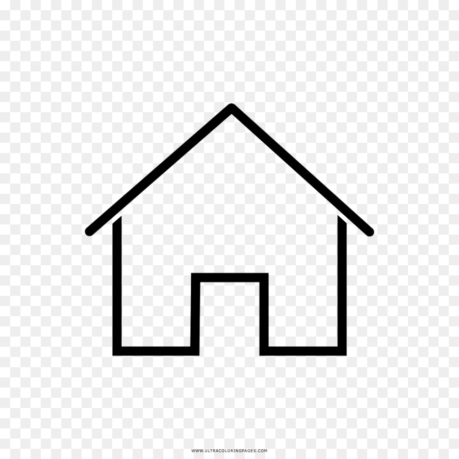 Drawing House Coloring book Home - house png download - 1000*1000 ...