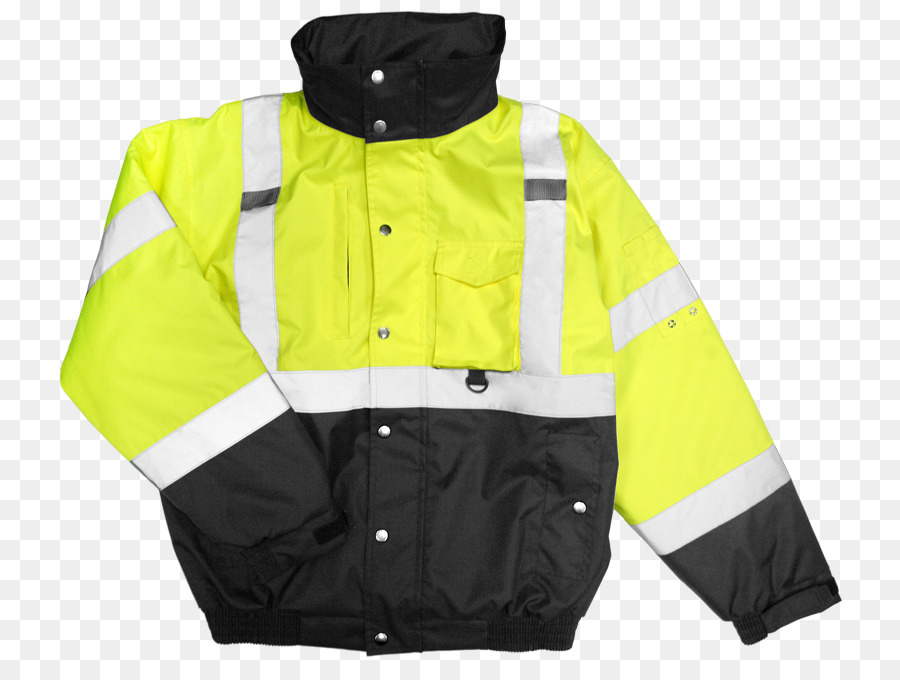 29e447317e Flight jacket T-shirt High-visibility clothing - safety jacket png download  - 809 666 - Free Transparent Jacket png Download.