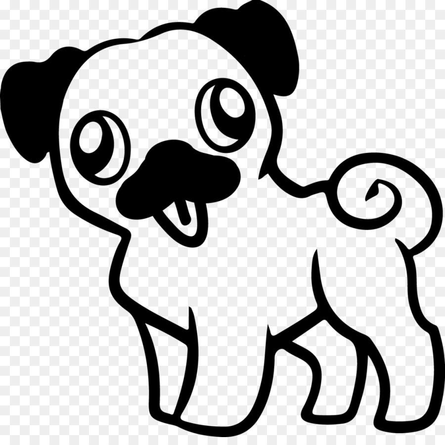 Pug Cachorro libro para Colorear, Dibujo de Adulto - cachorro png ...
