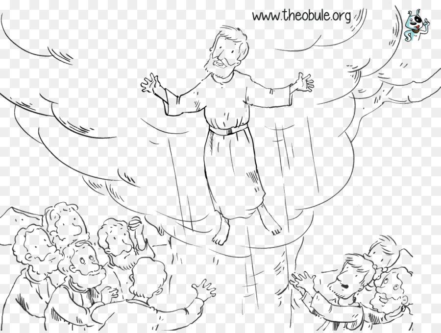 El Día de la ascensión libro para Colorear Apóstol de arte de Línea ...