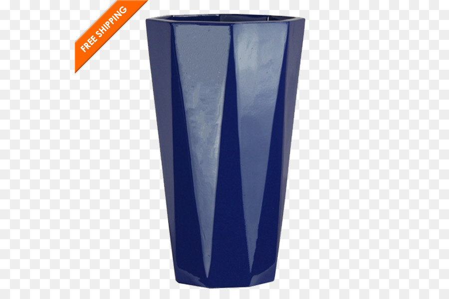 Cobalt Blue Highball Glass Vase Tall And Big Png Download 600