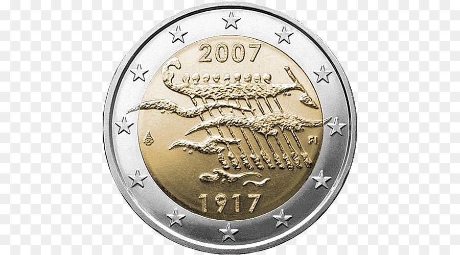 Finnland 2 Euro Münze 2 Euro Gedenk Münzen Euro Münzen Euro Png