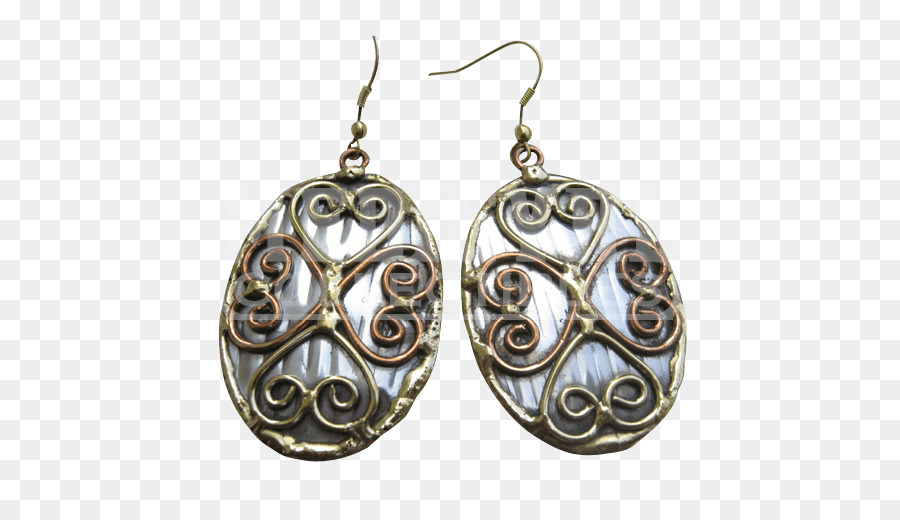 Earring Silver Body Jewellery Locket - jewelry gleam png