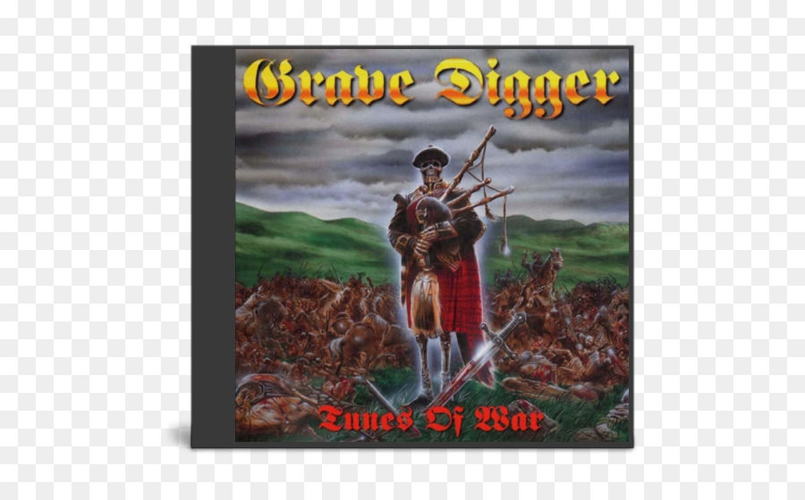 Tunes of War Grave Digger Album Heavy metal Power metal - Grave ...