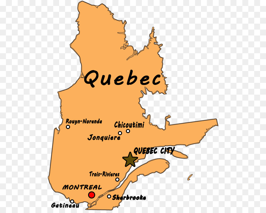 Quebec City Map on