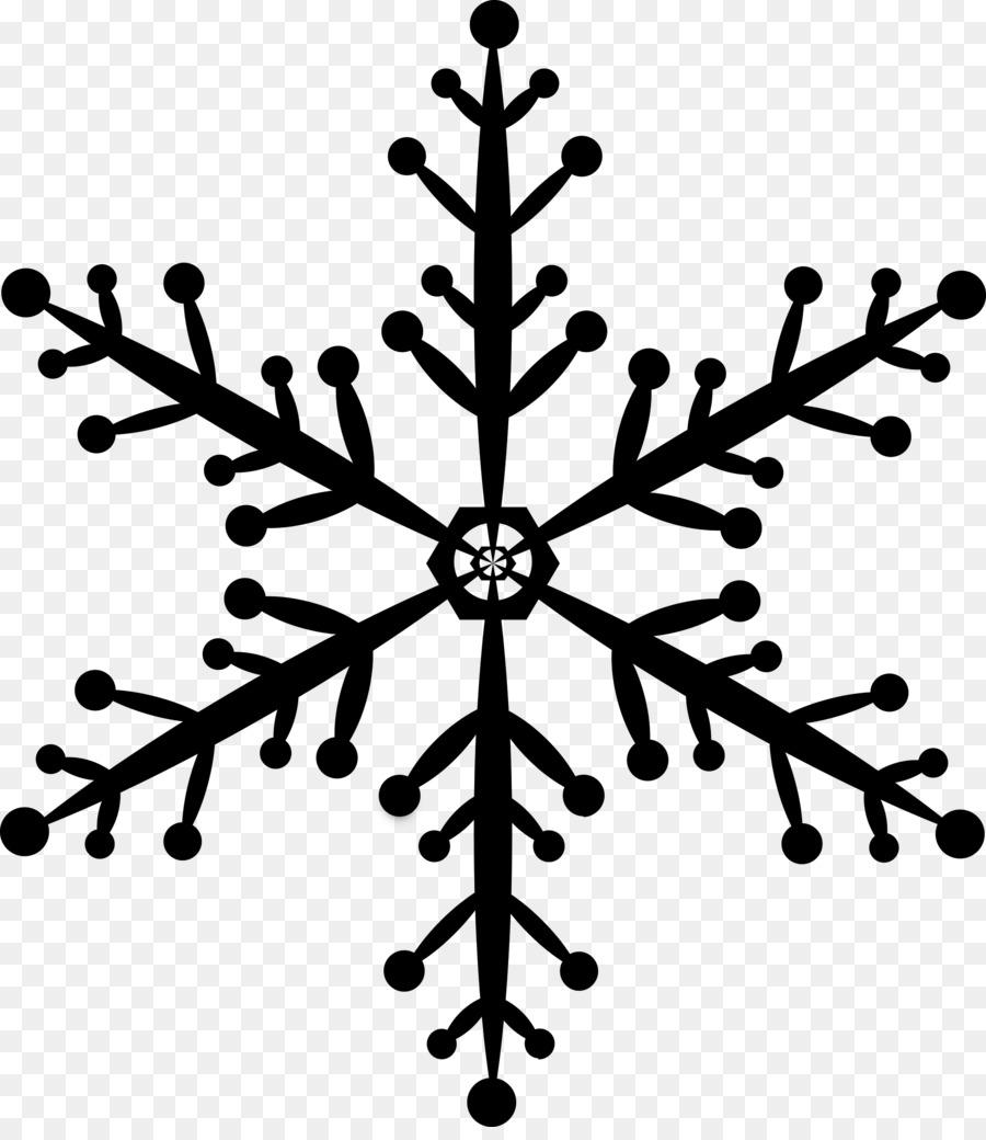 Disegni Geometrici Bianco E Nero fiocco di neve geometria forma geometrica - fiocco di neve