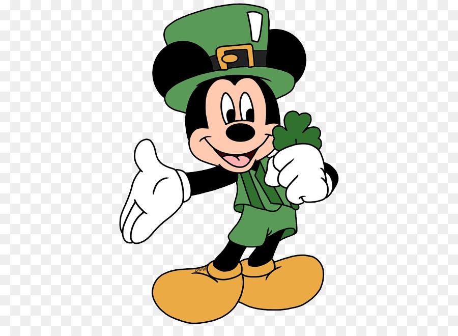 Mickey Mouse Día de San Patricio de Minnie Mouse de Walt Disney ...